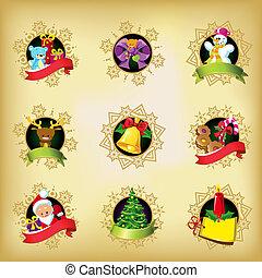 natal, ícones
