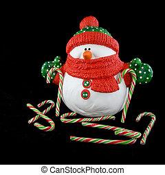 natal, boneco neve