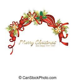 natal, cintilante, estrela, snowflake