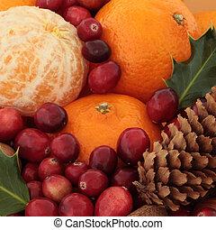 natal, fruta