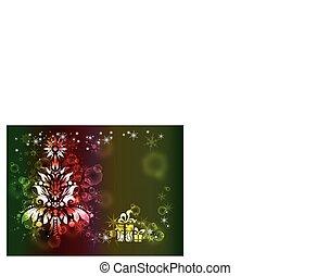 natal, fundo, festivo