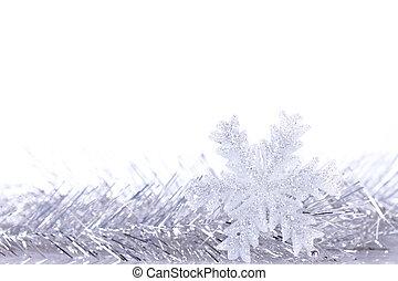 natal, fundo, inverno