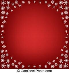 natal, fundo, snowflakes