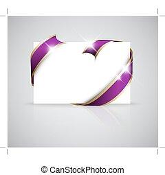 natal, ou, casório, cartão