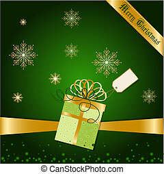 natal, saudações, cartão