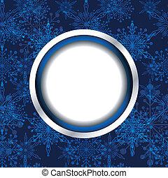 natal, snowflake, fundo