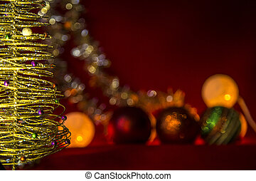 natal, thema, viering, december