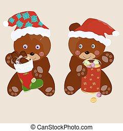 natal, urso