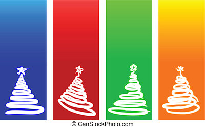 natale, backgrounds.