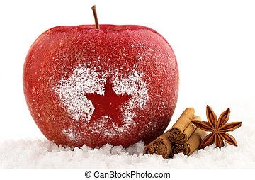 natale, mela