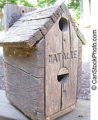 natalie's, birdhouse
