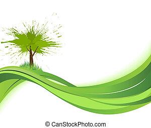 Natare background. Eco concept
