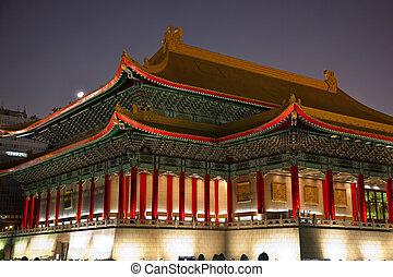 Natinnal Theater and Concert Hall Chiang Kai-Shek Memorial...