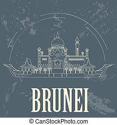 Nation of Brunei infographics, statistical data, sights....