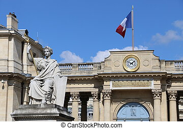 National Assembly of France in Paris