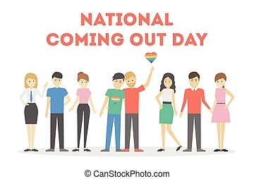 National coming out day.