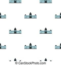 National Congress Building pattern seamless