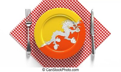 National cuisine and dishes of Bhutan. Delicious recipes. ...