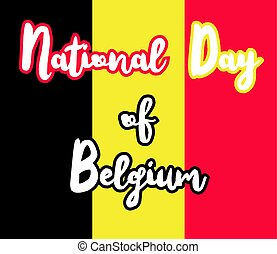 National Day of Belgium
