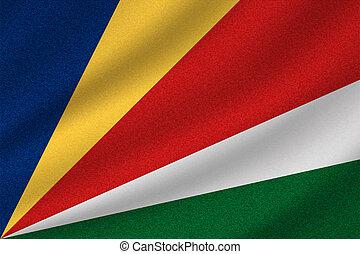 national, drapeau seychelles