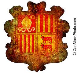 national emblem of andorra