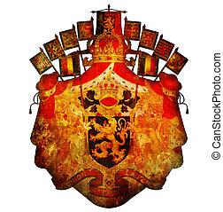 national emblem of belgium
