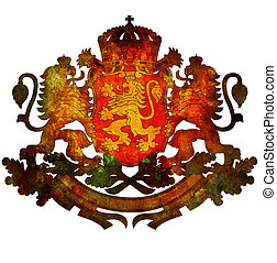 national emblem of bulgaria