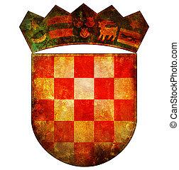 national emblem of croatia