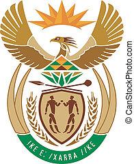 national emblem of South Africa