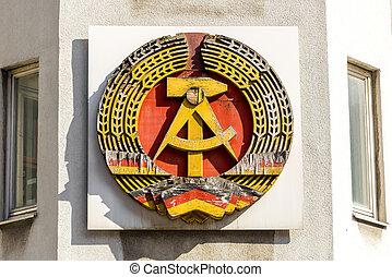 National Emblem of the German Democratic Republic
