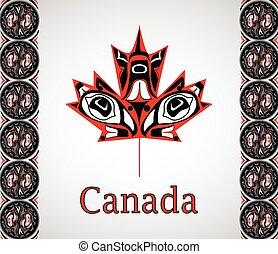 national, fete du canada, drapeau
