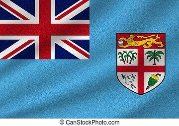 national, fidji, drapeau