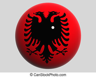 Albania - National Flag. Albania