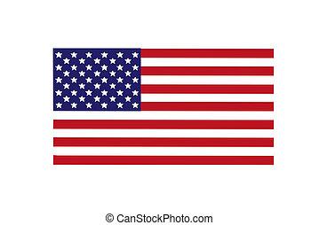 National flag America.