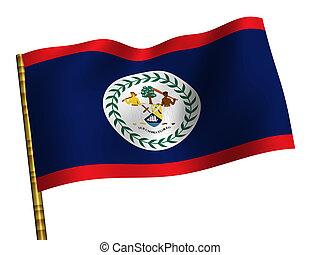 National Flag. Belize