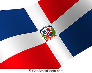 Dominican Republic - National Flag. Dominican Republic