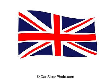 National flag England.