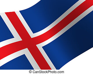 Iceland - National Flag. Iceland