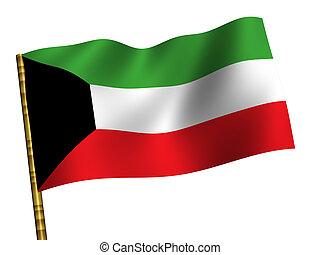 Kuwait - National Flag. Kuwait