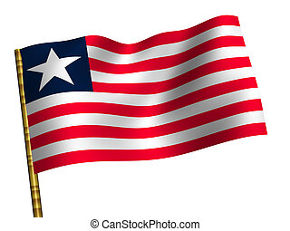 Liberia - National Flag. Liberia