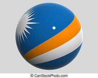 National Flag. Marshall Islands