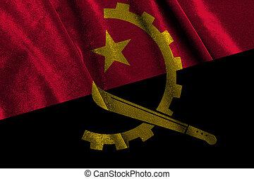 National flag of angola