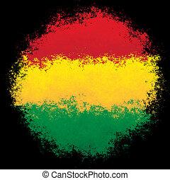 National flag of Bolivia