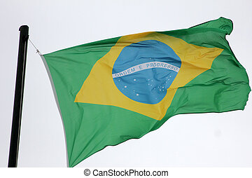 National flag of Brazil