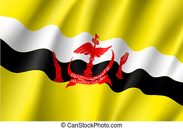 national flag of Brunei