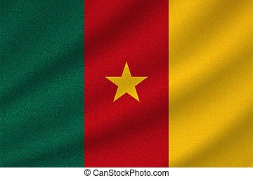 national flag of Cameroon