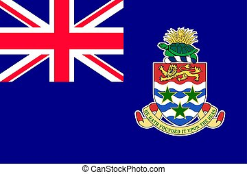 National flag of Cayman Islands