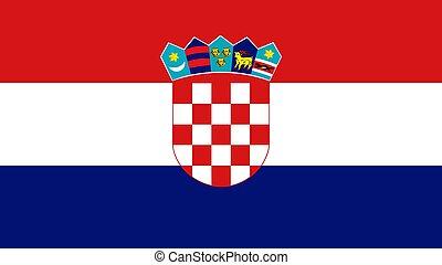 National Flag of Croatia
