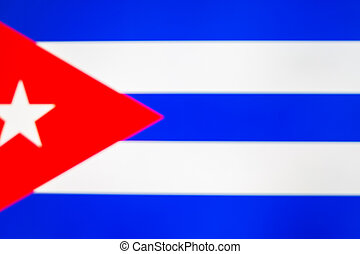 National flag of Cuba
