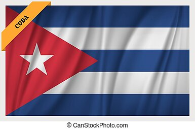 National flag of Cuba